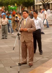 El vicepresidente de FAPV, Juan Martínez, dio la bienvenida a los asistentes