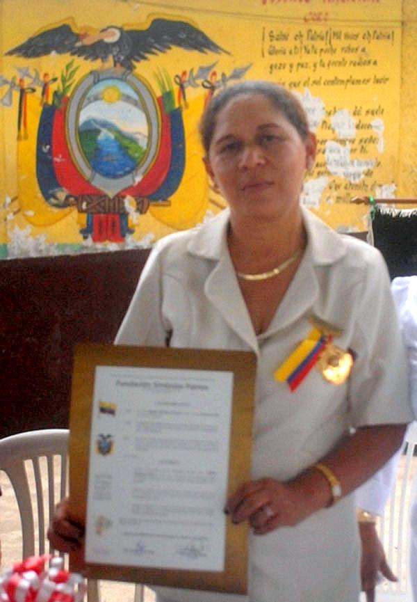 Celeste Medrano Olvera, Maestra del Año 2011