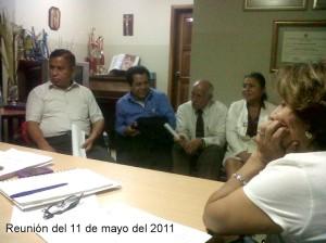 Miembros de FSP en la reunión del 11 de mayo del 2011