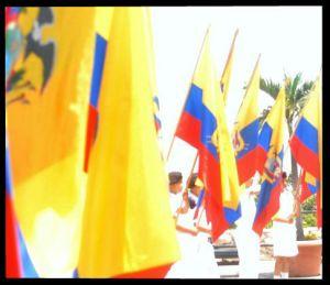 banderas con marco